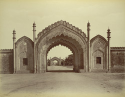 Gateway to Artillery Lines, [Rampur]
